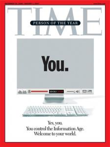 Time Magazine Cover - The Person of the Year: You